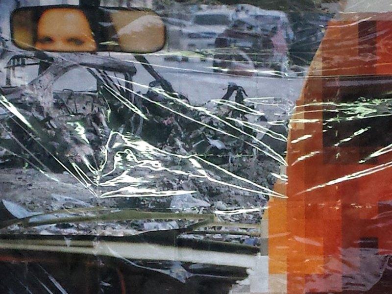 The Purple Line, al Maxxi di Roma i Pixel-Collages di Thomas Hirschhorn