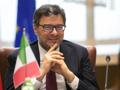 ministro Giancarlo Giorgetti