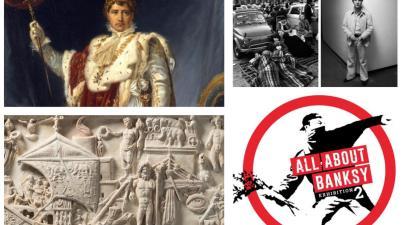 Banksy, Raffaello e Napoleone: nove mostre da visitare a Roma prima che chiudano