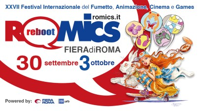 Roomics compie vent'anni: torna a Roma il Festival Internazionale del Fumetto