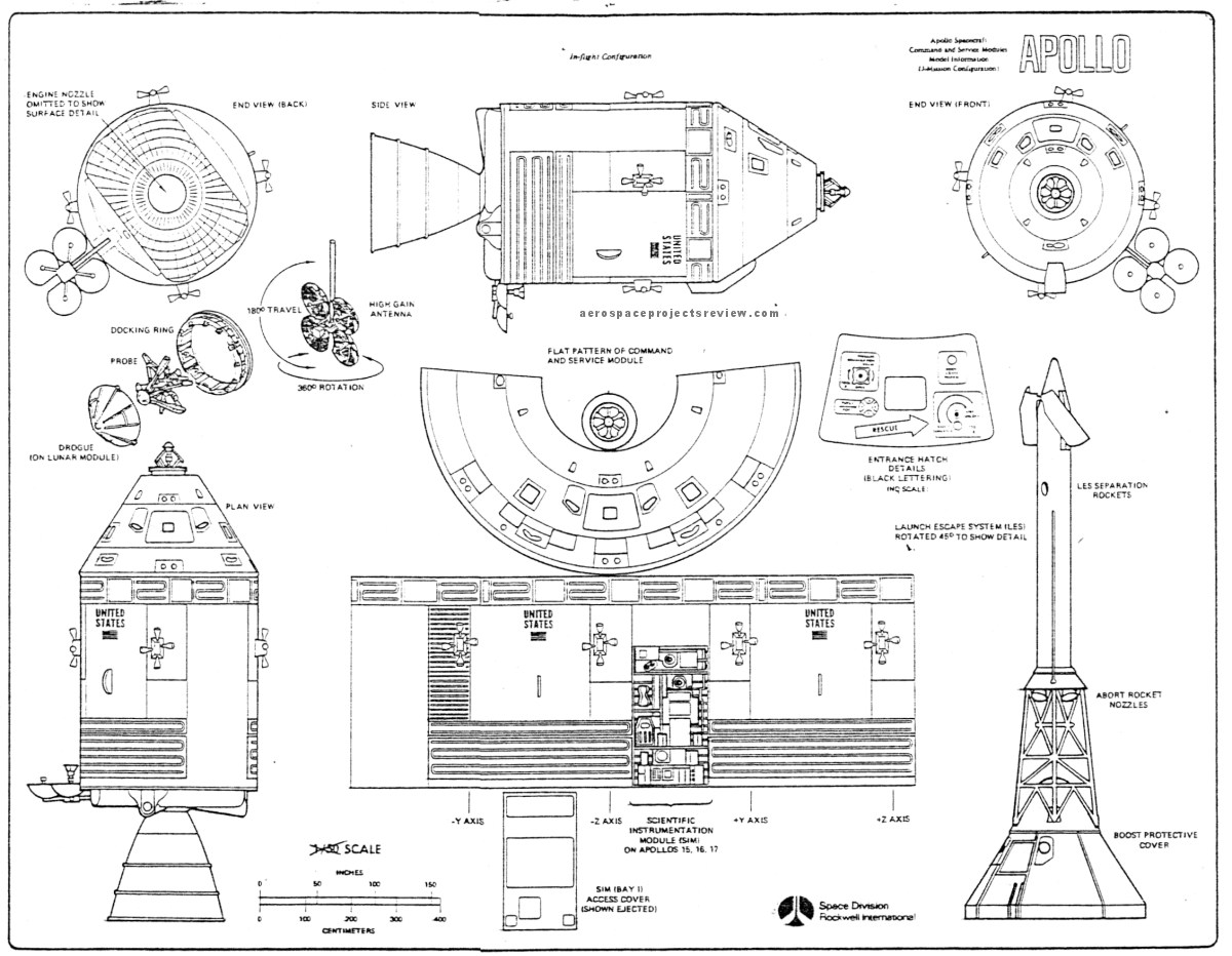 Apollo Space Capsule Diagram Page 3