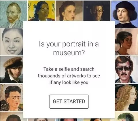 Google Arts and Culture App Face Match Feature