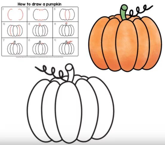 Draw Pumpkin