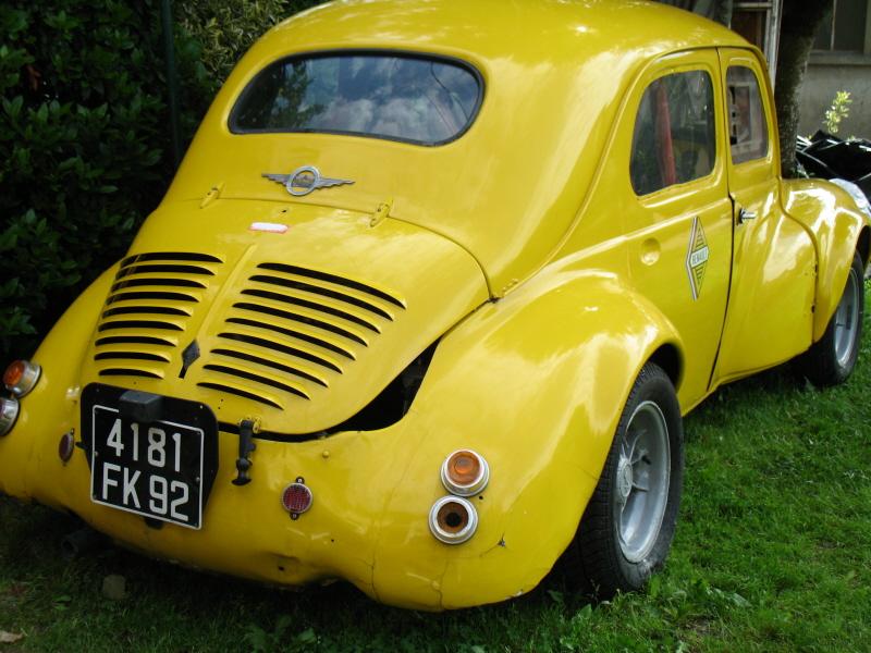 Renault 4cv Proto Auto Titre
