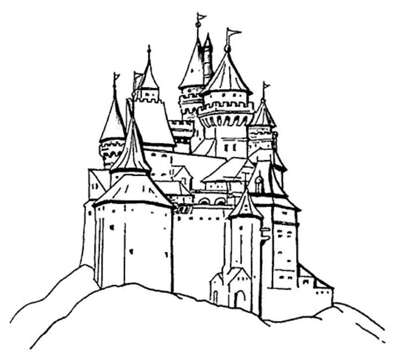 Burgen Und Schlsser Hier Seid Ihr Gefragt Malvorlagen