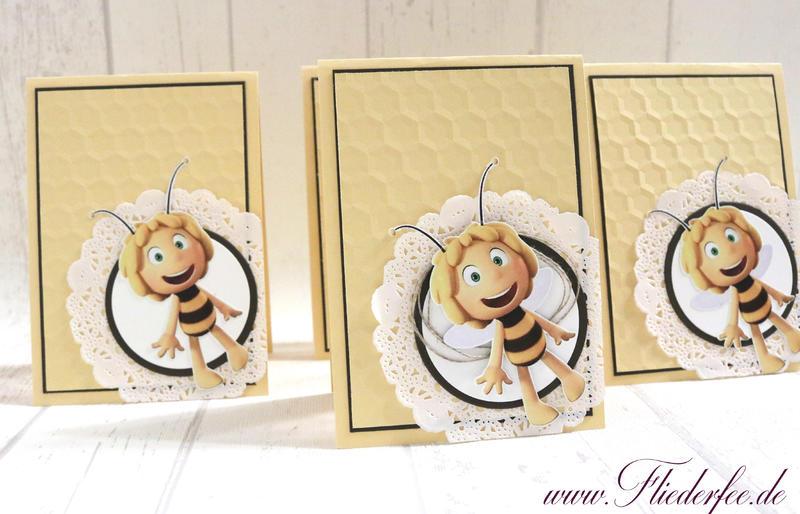 Zuerst Hatte Ich Gedacht Die Bienen Als Punch Art Zu Machen, Aber Meine  Versionen Hatten Leider Keine Ähnlichkeit Mit DER Biene Maja Und Deshalb  Habe Ich Es ...