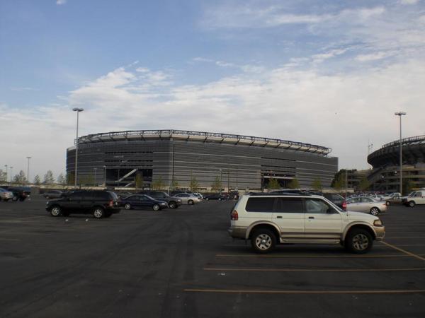 Das neue Giants Stadium