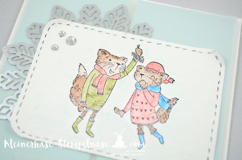 Stampin Up Bernau Berlin Mistletoe Friends Weihnachten Mistelzweig Aquarell 4