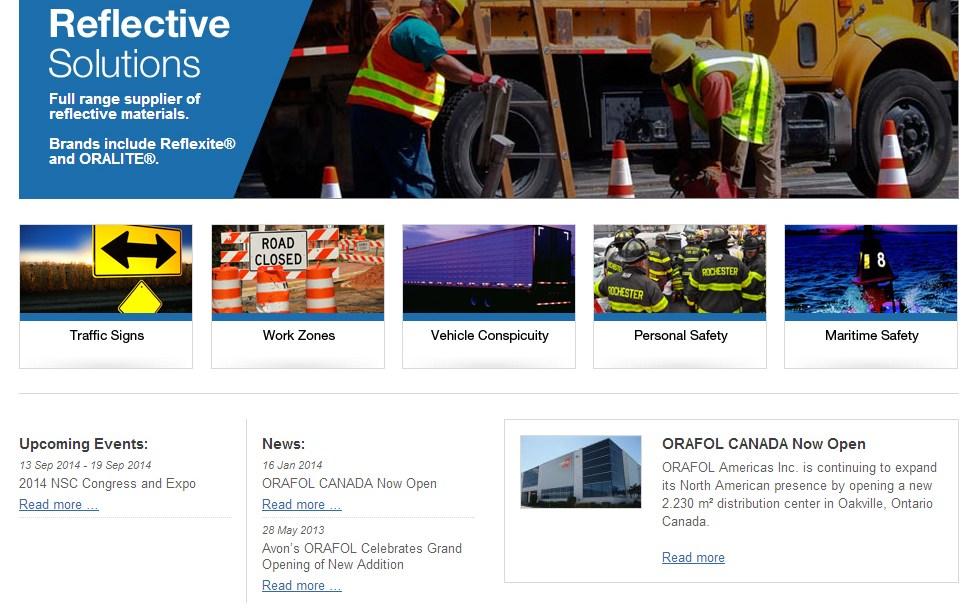 Rebranded Website Homepage