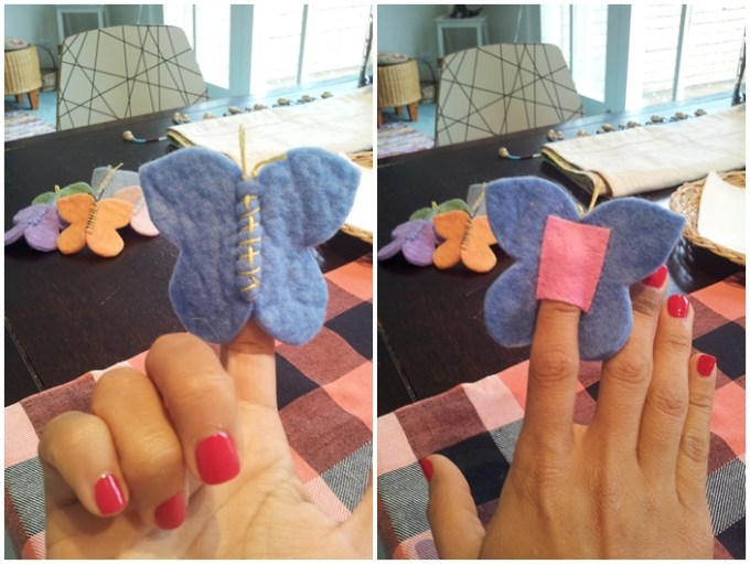 No festival da primavera do ano passado fiz fantoche de dedo pra todos os meus pequeninos. Eles amaram!!!!