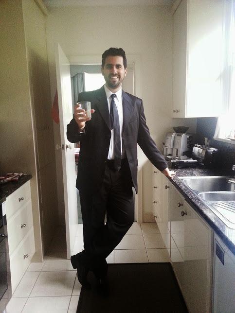 Lindíssimo indo pra um jantar black tie do trabalho. Amo!