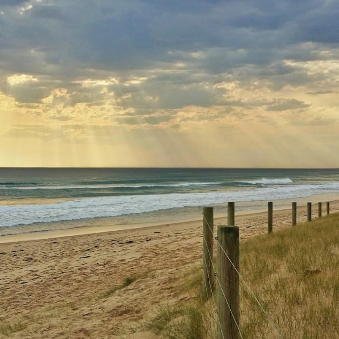 Praia de Portsea, em Melbourne. Verão 2015