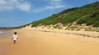 Long Reef beach, que é a ponta norte da praia de Dee Why.