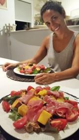 Verão foi sinônimo de saladas variadas, coloridas e muito saudáveis! Amo!
