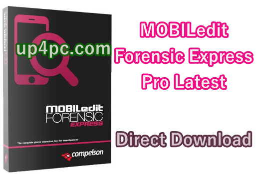 MOBILedit Forensic Express Pro 7.0.2.16723 Latest crack version