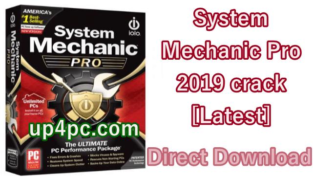 System Mechanic Pro 2019 crack v19.5.0.1 [Latest]
