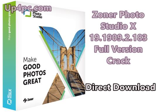 Zoner Photo Studio X 19.1909.2.183
