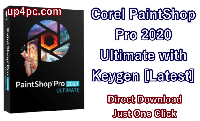 Corel Paintshop Pro 2020 Ultimate 22.1.0.43 With Keygen [Latest]