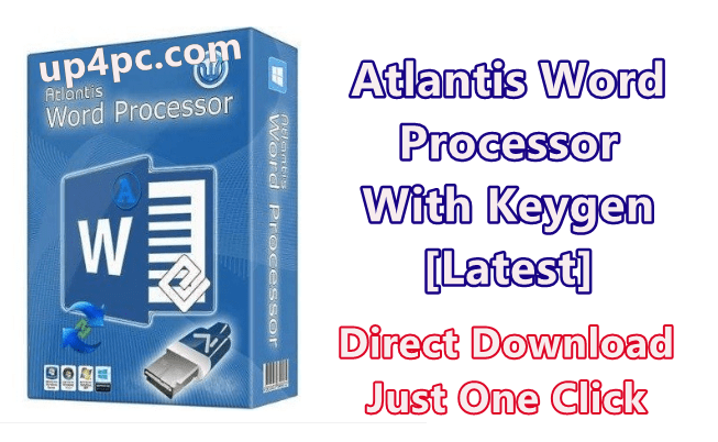Atlantis Word Processor 3.3.2.0 With Keygen [Latest]