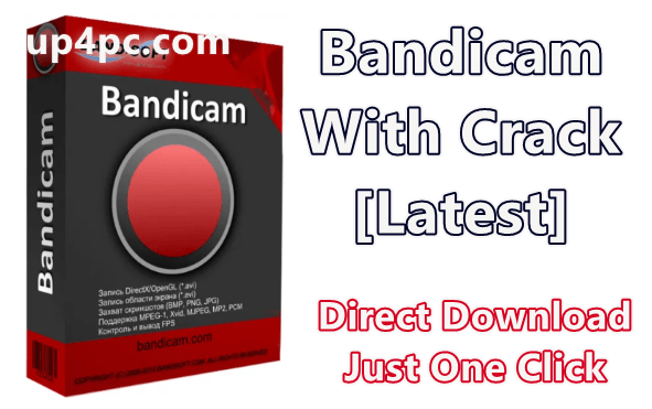 Bandicam 4.5.1.1597 With Crack [Latest]