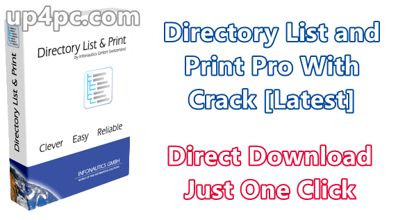 Directory List and Print Pro 3.71 With Crack [Latest]