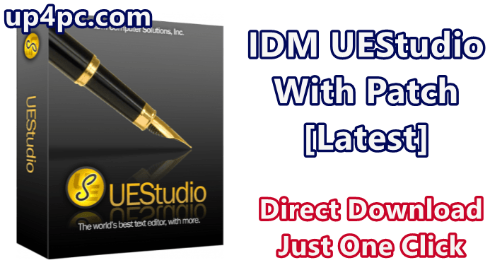 IDM UEStudio 19.20.0.32 With Patch [Latest]