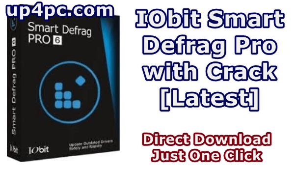 Iobit Smart Defrag Pro 6.3.5.189 With Crack [Latest]
