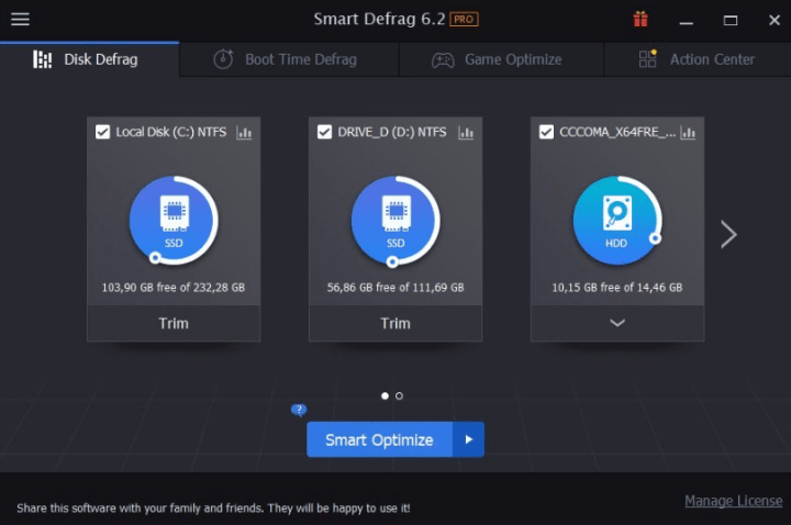 Iobit Smart Defrag Pro 6.4.0.256 With Crack [Latest]