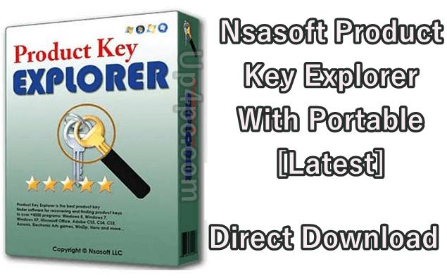 Nsasoft Product Key Explorer 4.1.9.0 With Portable [Latest]