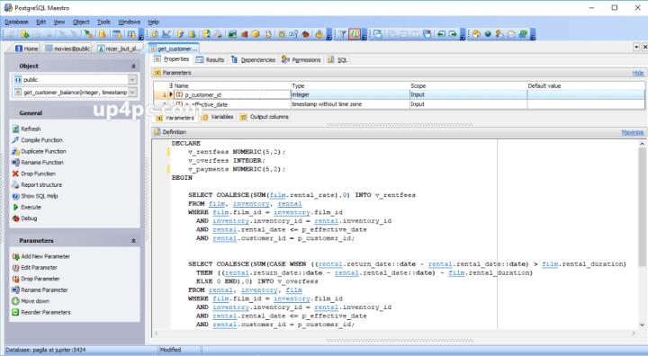 PostgreSQL Maestro 19.10.0.1