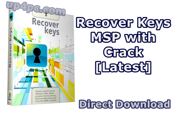 Recover Keys MSP 11.0.4.233 with License [Latest]