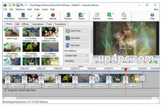 NCH PhotoStage Slideshow Producer Pro 6.35