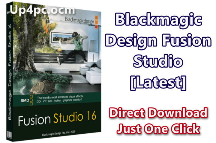 Blackmagic Design Fusion Studio 16.1.1 [Latest]