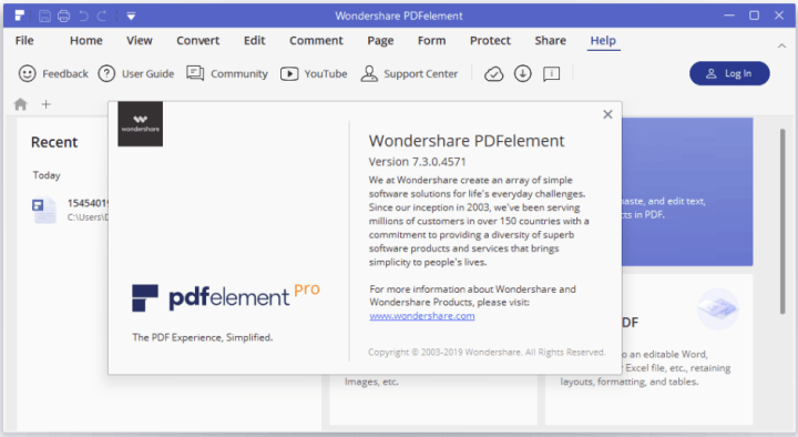 Wondershare PDFelement Pro-activated