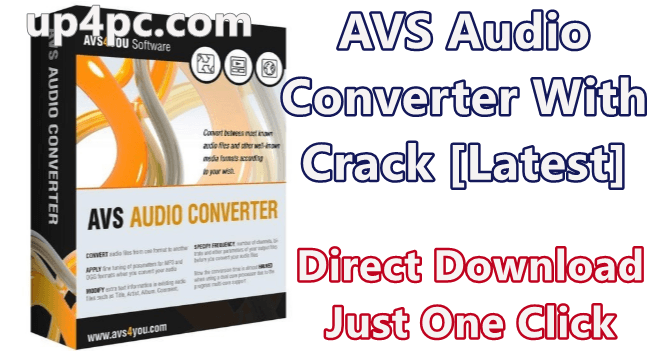 AVS Audio Converter 9.1.2.600 With Crack [Latest]