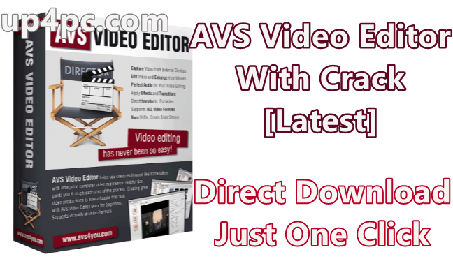 Avs Video Editor 9.1.2.340 With Crack [Latest]