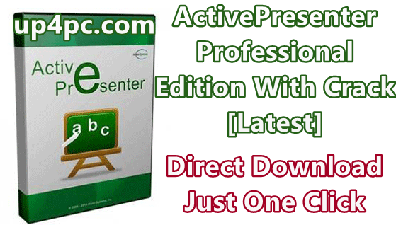 ActivePresenter Professional Edition 7.5.10 With Crack [Latest]