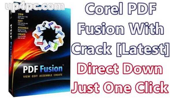 Corel PDF Fusion 1.14 With Crack [Latest]
