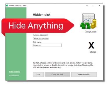 Cyrobo Hidden Disk Pro Activation Key