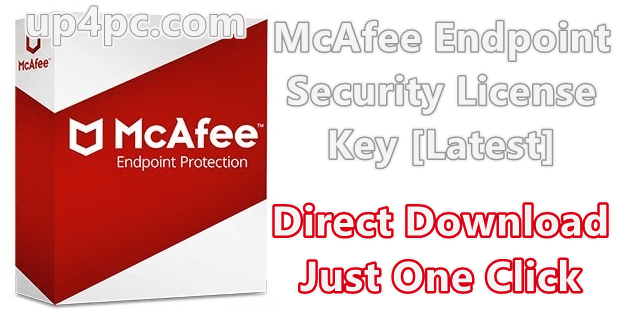 McAfee Endpoint Security 10.7.0.667.6 License Key [Latest]
