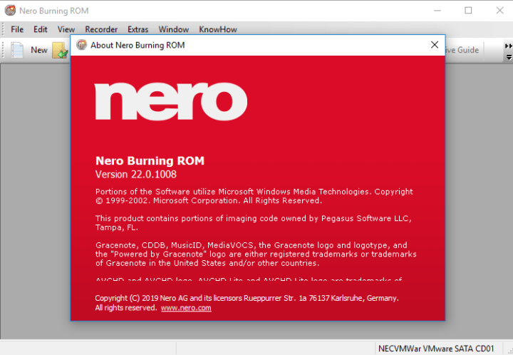 Nero Burning Rom 2020 V22.0.1008