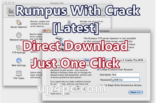 Rumpus 8.2.9 With Crack [Latest]