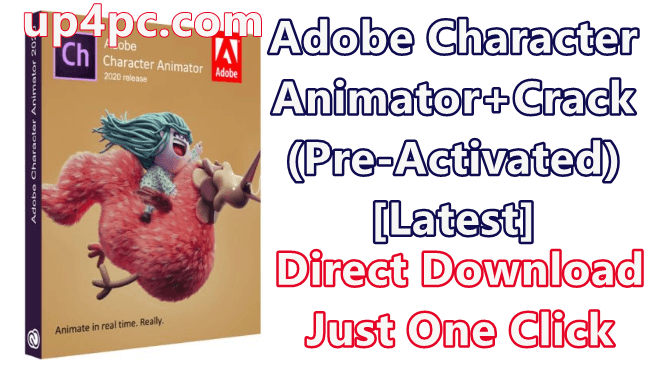 Adobe Character Animator 2020 v3.1.0.49 With Crack (Pre-Activated) [Latest]