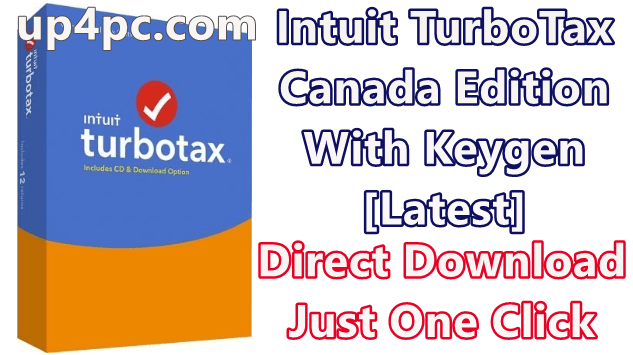 Intuit TurboTax 2019 Canada Edition With Keygen [Latest]