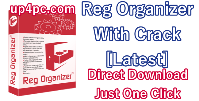 Reg Organizer 8.40 With Crack [Latest]