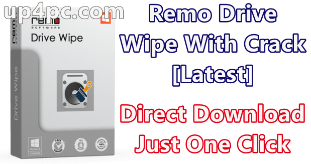Remo Drive Wipe 2.0.0.27 With Crack [Latest]