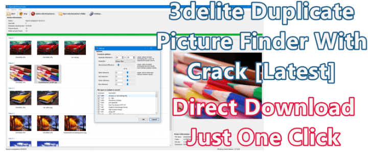 3delite Duplicate Picture Finder 1.0.48.78 With Crack [Latest] 1