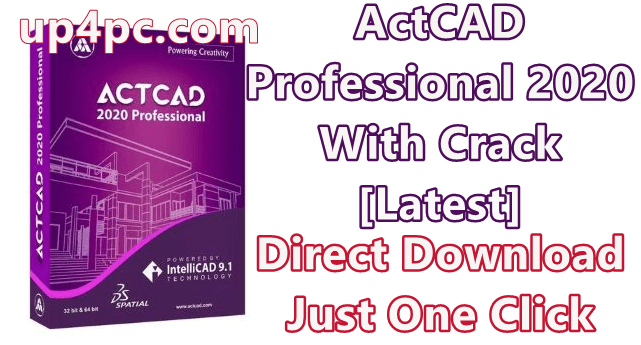ActCAD Professional 2020 v9.2.270 With Crack [Latest]