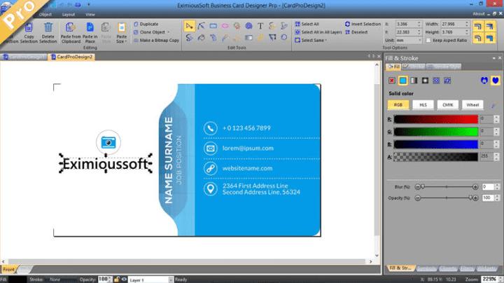 EximiousSoft Business Card Designer Pro 3.26 Serial Key [Latest]