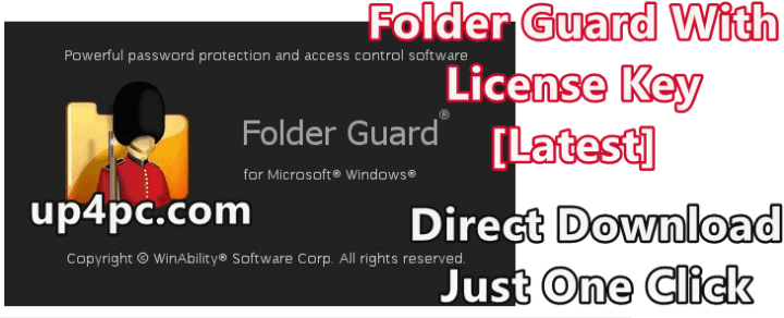 Folder Guard 20.1 With License Key [Latest]